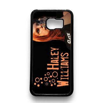 Hayley Williams Paramore Celebrity Samsung Galaxy S6 Case