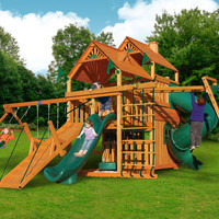 Playnation Hunter's Hideaway Wooden Swing Set
