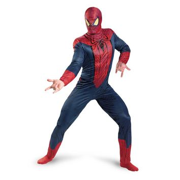 AMAZING SPIDER-MAN CLASSIC COSTUME JUMPSUIT ADULT