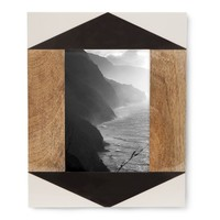 Nate Berkus™ Black and White Inlay Frame - 5x7""