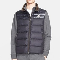 Men's Moncler 'Dupres' Two-Tone Quilted Down Vest,