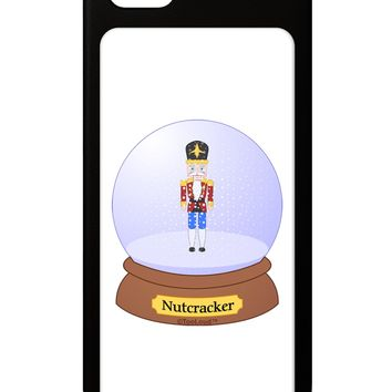 Nutcracker Snow Globe - Red Gold Black iPhone 5 / 5S Grip Case  by TooLoud