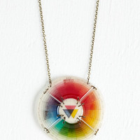 Statement Take a Tint Necklace by ModCloth
