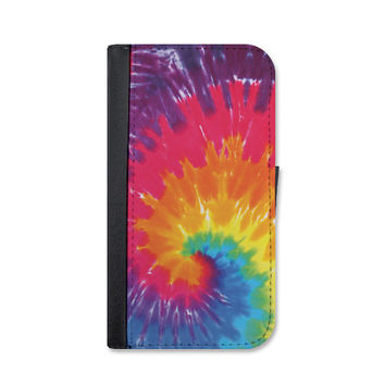 Tye Dye Wallet Case. Choose Samsung Galaxy S3, S4 or S5.