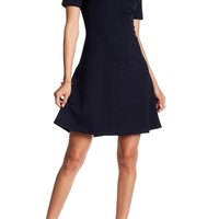 philosophy | Short Sleeve Boatneck Low Back Dress | Nordstrom Rack