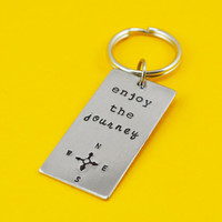 Enjoy The Journey - Travel Keychain