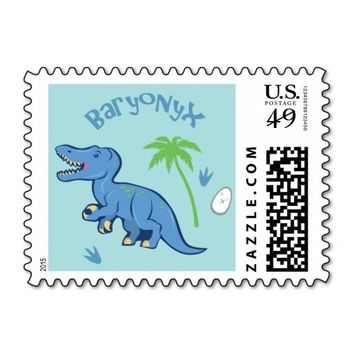 Cute Baryonyx Stamps