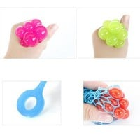 Squeezing Children Baby Toys Stress Relief Squeeze Ball Venting Ball Grape for Kids Girl Birthday Gifts Toy W20