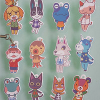 Animal Crossing charms - 12 characters available!!