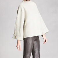 Ash Rain + Oak Marled Sweater