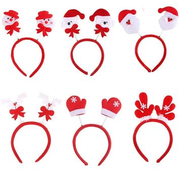 Lovely Christmas Head Fancy Bands Hair Hoop