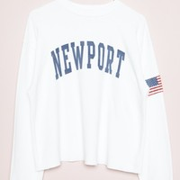 NANCY NEWPORT SWEATSHIRT