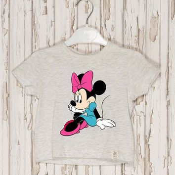 Minnie Mouse Iron on Patch Minnie Mouse embroidery applique Disney iron on patch Minnie Mouse iron on decals transfers sticker ikpa52