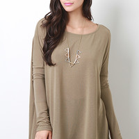 Dolman Sleeve Shift Top