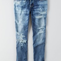 AEO Women's Denim X Cafe Tomgirl Jean (Mellow Froth)