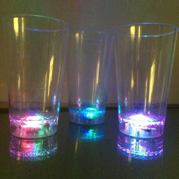 Cute Drinks Hot Deal Hot Sale Coffee On Sale LED Lightning Plastic Transparent Cup [4915330884]