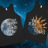 Her Sun and Stars - Skreened T-shirts, Organic Shirts, Hoodies, Kids Tees, Baby One-Pieces and Tote Bags Custom T-Shirts, Organic Shirts, Hoodies, Novelty Gifts, Kids Apparel, Baby One-Pieces | Skreened - Ethical Custom Apparel