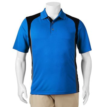 Grand Slam Airflow Colorblock Performance Polo - Big & Tall, Size: