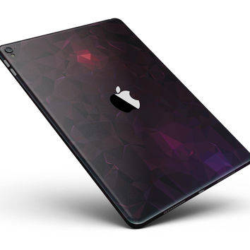 "Dark Age Geometric V13 Full Body Skin for the iPad Pro (12.9"" or 9.7"" available)"