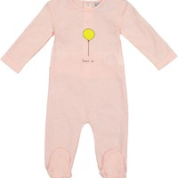 Kipp Baby Girls' Pink Balloon Footie
