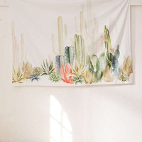 Cactus Landscape Tapestry | Urban Outfitters