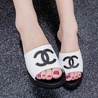 Chanel Women Casual Fashion Sandal Slipper Shoes