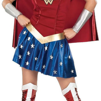 wonder woman adult costume - x-small