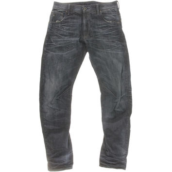 G-Star Raw Mens Slim Fit Aged Jeans