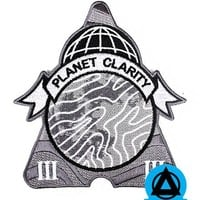 Michael Willett - Planet Clarity Patch (Glow-in-the-Dark)