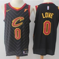 NBA Authentic Basketball Player Jerseys Cleveland Cavaliers # 0 Kevin Love Black