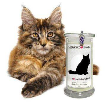 I Love My Maine Coon! - Companion Candles