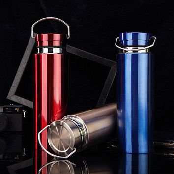 Stainless Steel Insulated Cup Coffee Tea Thermos Mug Thermal Bottle Thermocup Travel Drink Bottle