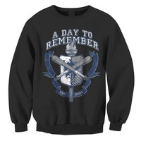 A Day To Remember: University Crew Neck Sweatshirt