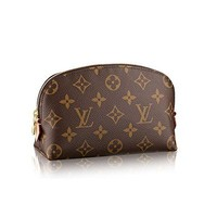 LV Louis Vuitton Monogram Canvas Cosmetic Pouch M47515