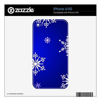 Christmas Skin For iPhone 4