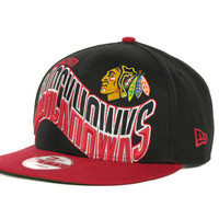 Chicago Blackhawks NHL Ice Wave 9FIFTY Snapback Cap