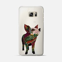 pig love 1 transparent Samsung Galaxy S6 Edge+ case by Sharon Turner | Casetify