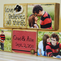 Personalized wedding shower anniversary gift with by FayesAttic11