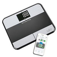 WiTscale S1 Stainless Steel Body Fat Bluetooth Smart Digital Bathroom Scale with Large Backlit Display and Step-On Technology for Galaxy S6, samsung Note5 , iPhone6S(support Apple HealthKit) and iPad Air2