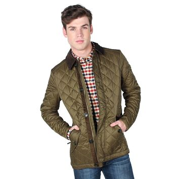 Fortnum Quilted Jacket in Olive by Barbour - FINAL SALE