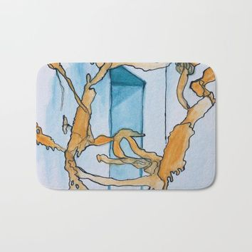 Watercolor I Bath Mat by Alayna H.
