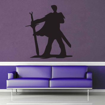 Fighter Silhouette - Wall Decal - No 2$8.95