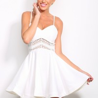 HelloMolly | L.A. Love Dress White
