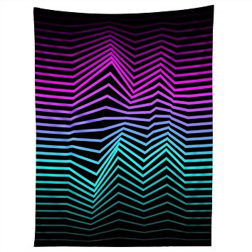 Three Of The Possessed Miami Nights Tapestry