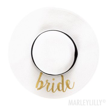 Bride Sun Hat | Marleylilly