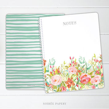 Spiral Notebook | Bridesmaid Gift, Gift for Her, Office Accessories | Jolie
