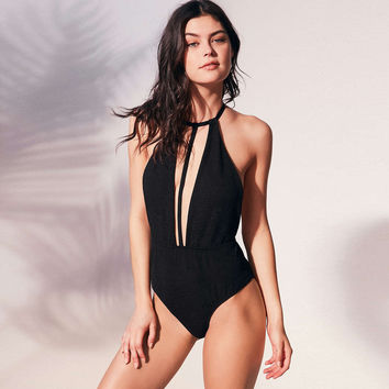 Comfortable High Quality Summer Sexy Deep V High Waist Swimwear [10508755847]