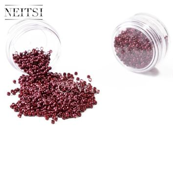 Neitsi Nano Ring Beads For Micro Loop Links Keratin Human Hair Extensions 500pcs/pack 6 Colors Available
