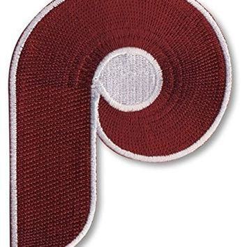 Philadelphia Phillies Retro ''P'' MLB Baseball Jersey Patch - Ships w/a Tracking Numbe