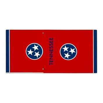 Binder with Flag of Tennessee, USA